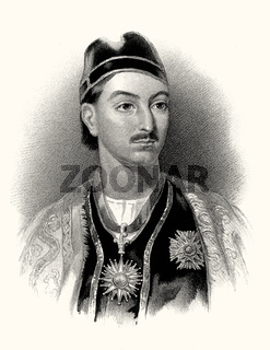 Mohan Lal Zutshi, Mohana Lala, 1812-1877, Indian diplomat, digitally optimized