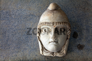 Antiquity mask at the Vatican Museum