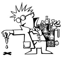 Scientist Test Droplet