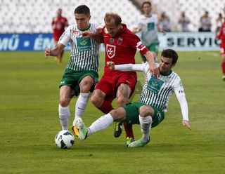 FTC vs. Videoton OTP Bank League football match