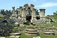 Yuanmingyuan Ruins in Beijing