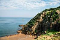 Yongmeori Beach, Jeju Olle Trail in Jeju Island, Korea