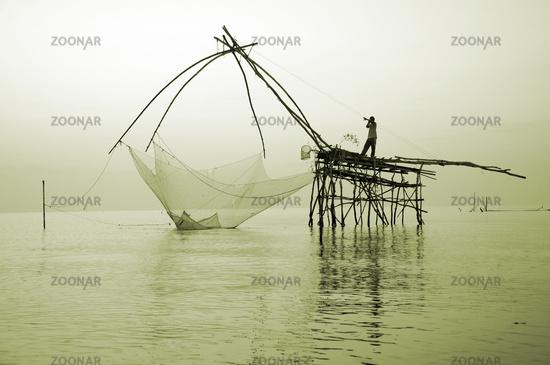 big fishing net