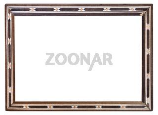 retro inlaid narrow picture frame