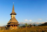 church romania carpathian mountains