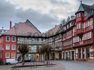 Altstadt in Miltenberg am Main, Bayern, Deutschland