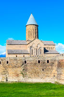 Alaverdi orthodox monastery in Kakhetia region in Eastern Georgia
