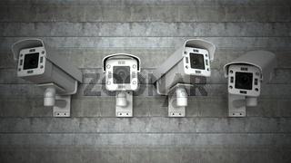 Cameras Wall