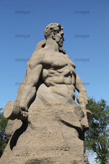 Stalingrad monument stand to death