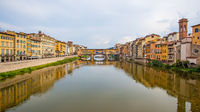 Panoramic view of Florence in Italy