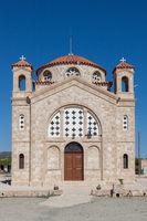 CAPE DEPRANO, CYPRUS, GREECE - JULY 23 : Church of Agios Georgios at Cape Deprano Cyprus on July 23, 2009