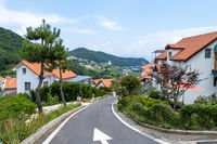 Namhae German Village ocean view