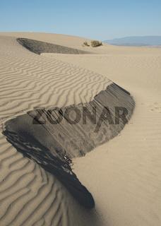 Sand dunes in the ocean. Desert dry sahara land Cyprus