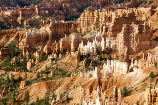 Sunrise at Sunrise Point in the Bryce Canyon National Park. Utah USA
