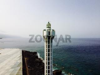 Punta Lava Lighthouse in La Palma, Canary Islands