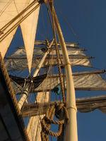 rig of a sailing vessel