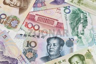 Chinesische Yuan Banknoten | Chinese Yuan bills