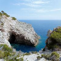 Rocky coastline Mallorca