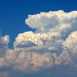 Summer Thunderstorm Clouds