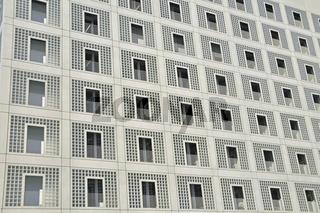Die neue Stadtbibliothek am Mailänder Platz, Architekt Prof. Eun Young Yi, eröffnet am 24. 10.2011 auf dem Stuttgart-21-Areal, Stuttgart, Baden-Württemberg, Deutschland, Europa