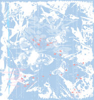 grunge blue background with butterflies