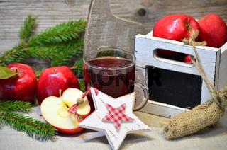 Weihnachten Advent Äpfel