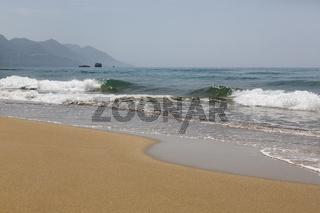 Glyfada Beach auf der Insel Korfu, Griechenland
