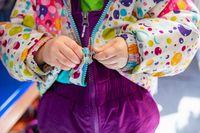 Children entertainment in a canadian kindergarten