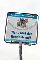 Signs in Eckernfoerde. 004