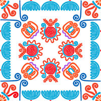 Hungarian embroidery pattern 120