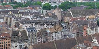 Strassbourg von oben