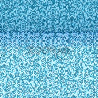 Snowflake pop up border seamless vector