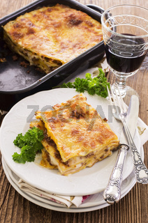 lasagne with ground meat