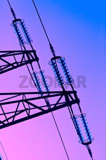Strom Hochspannungsmast