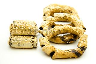 Ägyptische Kekse mit Schokolade