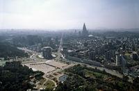 Pyongjang Aerial View