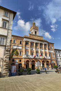Foligno Umbria Italy. The Town Hall