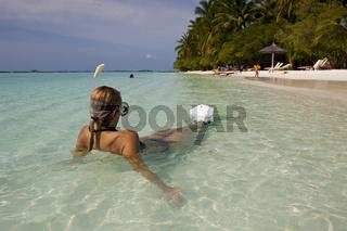 Ferien auf den Malediven