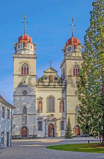 Klosterkirche Rheinau, Schweiz