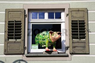 Fenster mit Hopfensau