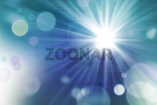 sonnenlicht mit lichtreflexen auf solarmodule-textur