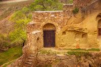 Monastery in Georgia, David Gareja caves