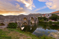 Old bridge in Trebinje - Bosnia and Herzegovina