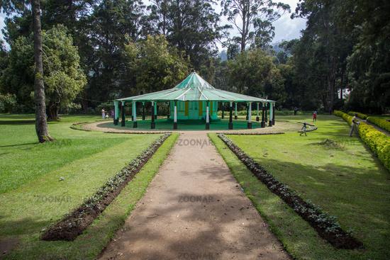 Victoria Park in Nuwara Eliya, Sri Lanka