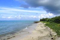 Beach Landscape, Caribbean Sea, Playa Giron, Cuba