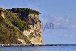 Blick auf Kap Arkona auf der Insel Rügen.