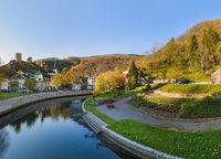 Village Esch sur Sure in Luxembourg