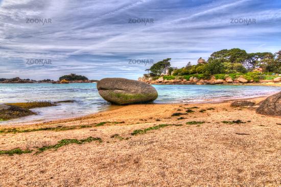 Pink Granite Coast, Brittany, France