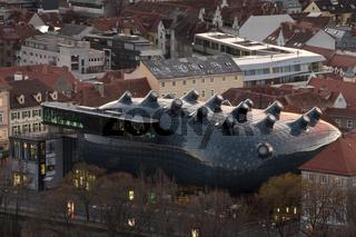 Das friendly Alien der Grazer Altstadt