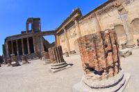 Ruins of Pompei, Ancient Roman Ruins, Naples, Italy